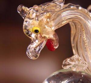 1890-Venetian-Glass-Salviati-Mythological-Griffin-Phoenix-Dragon-Compote-Bowl