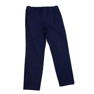 Ann-Taylor-LOFT-Marisa-Women-039-s-Dress-Pants-Sz-6-Blue-Tapered-Mid-Rise
