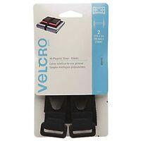 2 Packs Velcro Brand All Purpose Elastic Strap 27in X 1in 68.5cm X 2.5cm 2pcs