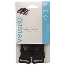 2 Packs Velcro Brand All Purpose Elastic Strap 27in x 1in 68.5cm x 2.5cm 2p
