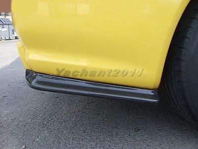 PH~ 2Pcs Rear Bumper Spat Add on For Nissan Fairlady 350Z Nismo Version 1 FRP