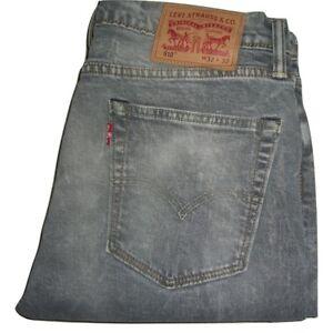 cfee27d34 Faded 510 Levi's Jeans Denim Stretch W32 Grey Effect Fit Skinny L32 Mens  vSnWd4q5w5
