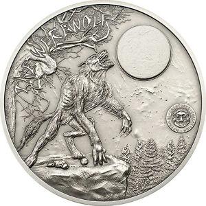 10 $ 2013 - Palau - Mythical Creatures Collection - Werewolf / Werwolf