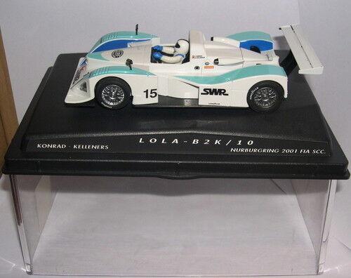 SPIRIT 100103 LOLA B2K 10  15 KONRAD-KELLENERS NÜRBURGRING 2001 FIA SCC-MB