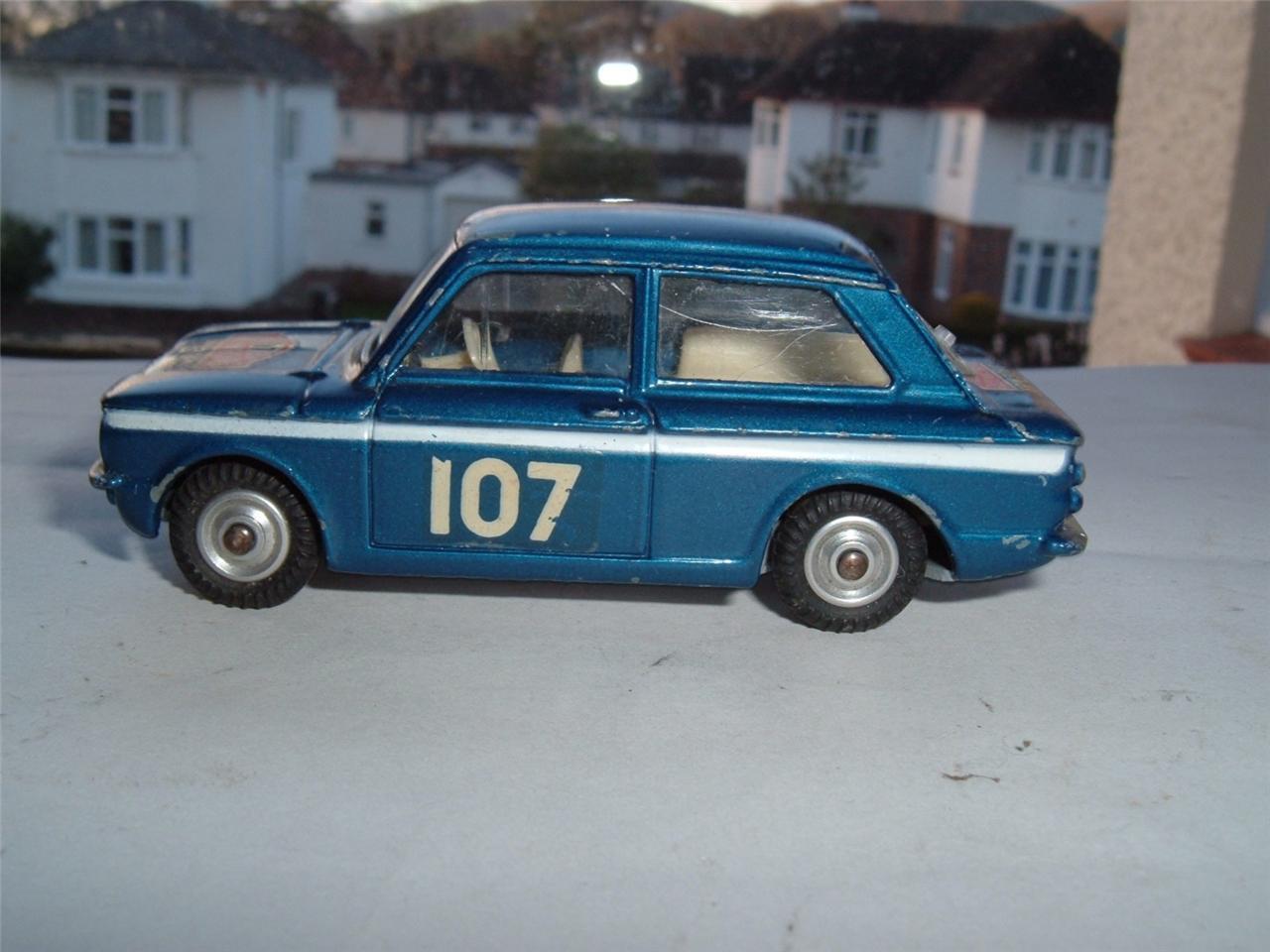 CORGI jouet 328 1966 MONTE CARLO Rallye HILLMAN IMP original nettoyer voir photos