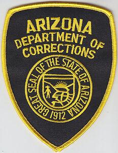 arizona department of corrections patch police az doc ebay. Black Bedroom Furniture Sets. Home Design Ideas
