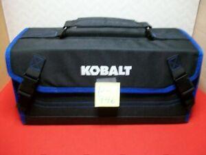 BRAND NEW KOBALT FOLD-OUT TOOL BAG W/ 24 INDIVIDUAL INTERIOR TOOL POCKETS #KK1