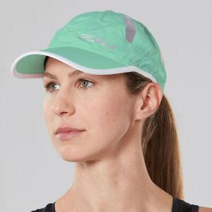 2XU-Unisexe-Running-Cap-Bleu-Sport-Respirant-Leger