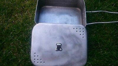 Handmade British Army mess tin lid//bushcraft//survival//prepper//militaria//