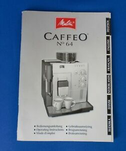 melitta caffeo ci bedienungsanleitung