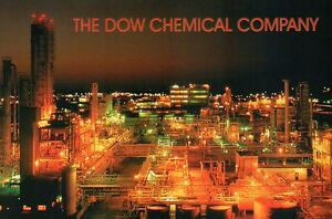The Dow Chemical Company, Midland, Michigan, Chemicals, Plastics --- Postcard