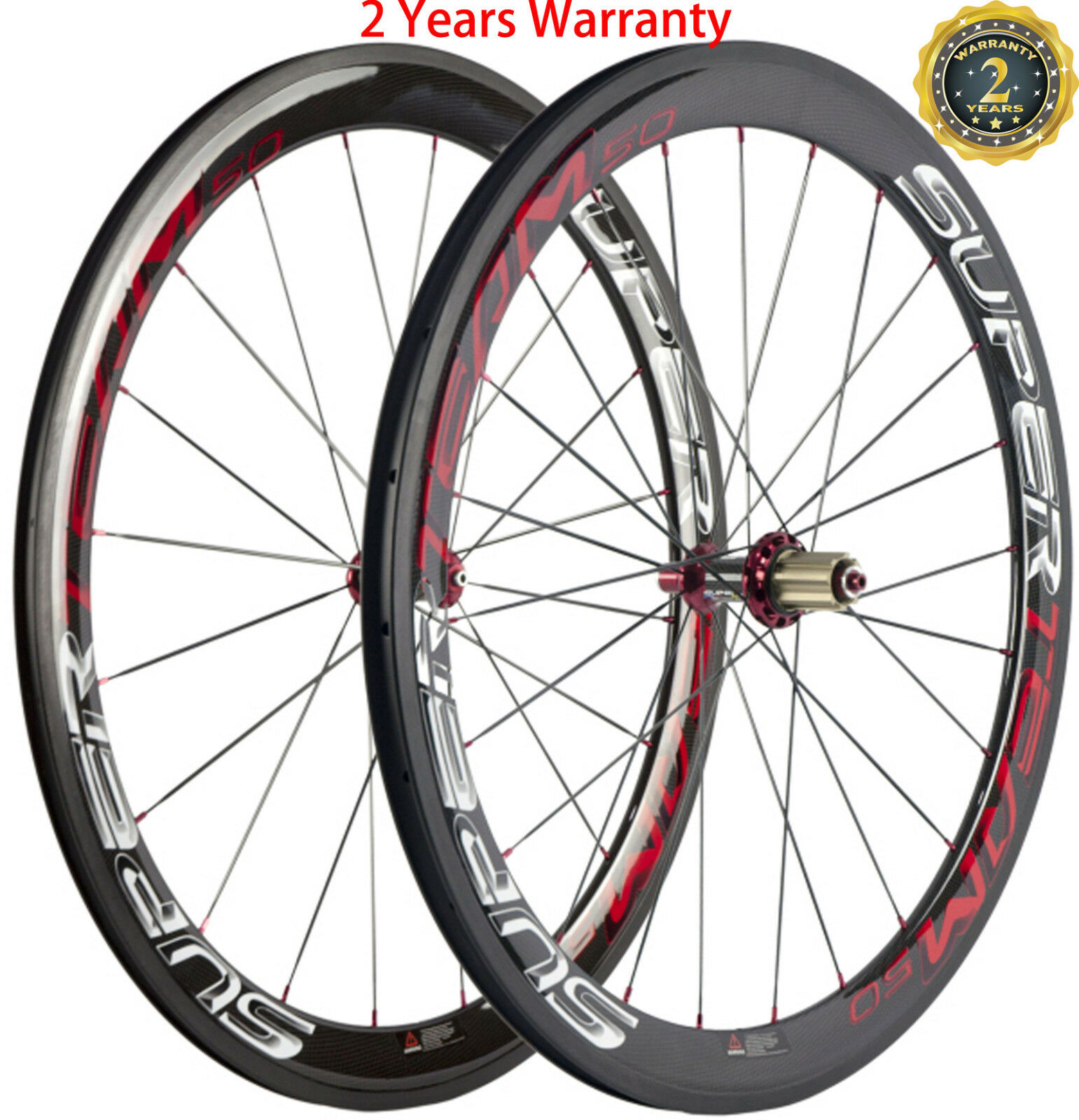 700C Bicycle Wheels 50mm Powerway R36 Hub Road Wheels Shimano  Campagnolo Bike  cost-effective