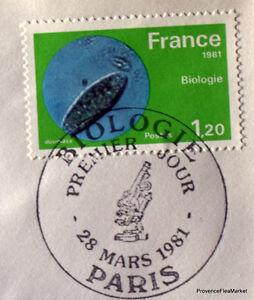 BIOLOGIE-Yt-2127-FDC-Enveloppe-Premier-jour