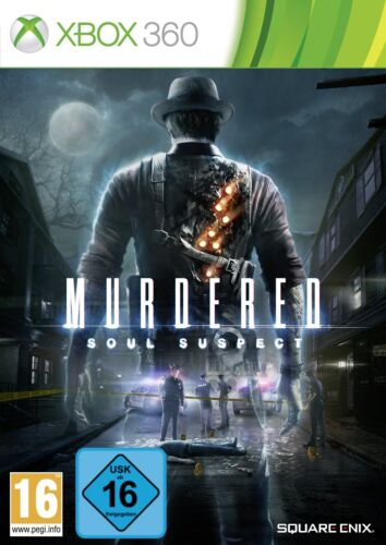 Xbox 360 Game MURDERED SOUL SUSPECT NIP