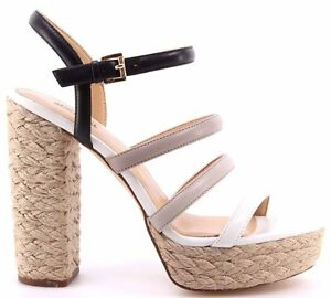 53e6ce473793 Women s Shoe Heels Sandals MICHAEL KORS Nantucket Platform Leather ...