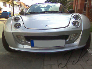Smart-Roadster-Front-Lip-Bumper-Spoiler-Diffuser-Add-On