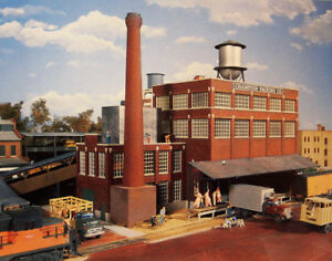 Walthers Cornerstone HO Scale Building/Struc<wbr/>ture Kit Champion Packing Plant