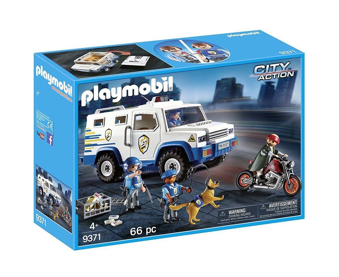 Playmobil City Action - Policía: Vehículo Blindado - NUEVO
