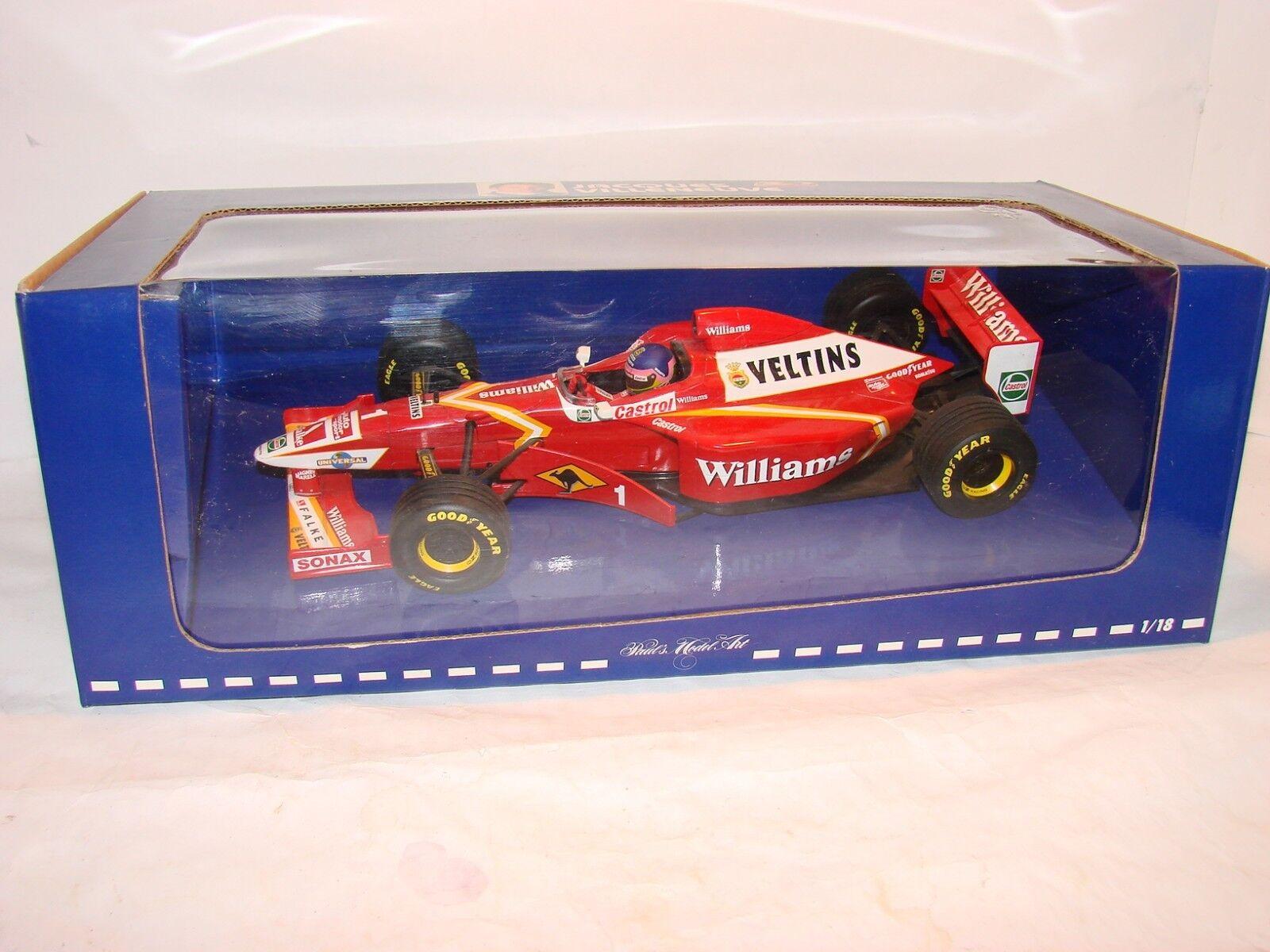 1 18 Williams Veltins fw20 Présentation 1998 Jaques Villeneuve, Minichamps