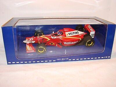 1/18 Williams Veltins Fw20 Presentazione 1998 Jaques Villeneuve, Minichamps-mostra Il Titolo Originale