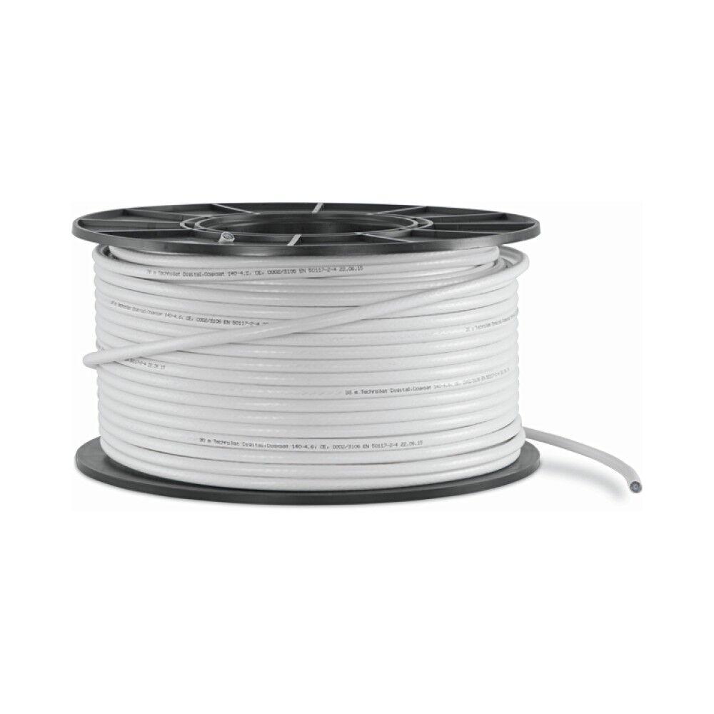 Technisat CoaxSat 140 dB 140-4.6 100m Koaxialkabel Sat Kupfer Innenleiter