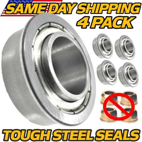 4pk Craftsman Wheel Bushing Bearing Conversion DLS3500 DLT2000 DLT3000 DYS4500