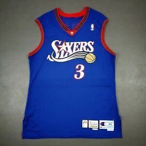 100-Authentic-Allen-Iverson-Champion-99-00-Sixers-Game-Issued-Jersey-44-2-034