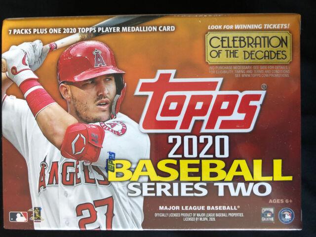 2020 TOPPS SERIES 2 Baseball Blaster Box Retail MLB ROBERT RC SSP