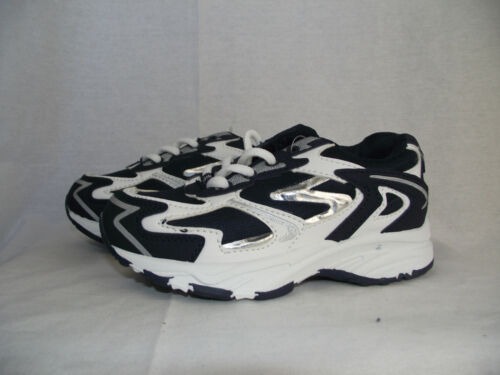 BNWT Little Boys Sz 11 Quality Viper Brand Navy and White Athletic Jogger Shoes