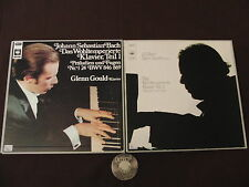 6 LP 2 BOX BACH Well tempered Clavier Germany 70s Glenn GOULD | M- to EX