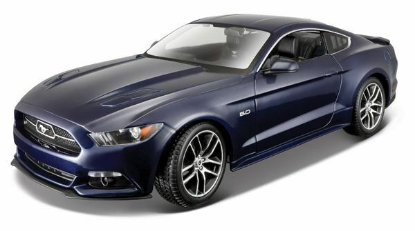 Maisto 1 18 Scale 2015 Ford Mustang Model  nouveau 38133bl  sortie