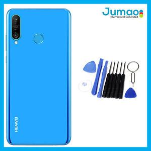 Vitre-arriere-capot-cache-batterie-Bleu-lentille-Adhesif-Pour-Huawei-P30-Lite
