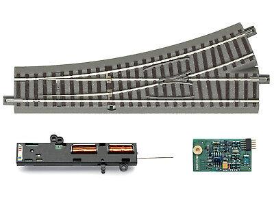 61196 Weichendecoder Roco H0 61195 geoLine Universalweichenantrieb NEU