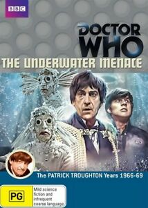 Sealed-DOCTOR-WHO-THE-Underwater-Menace-dvd-R4-Patrick-Troughton-Frazer-Hines