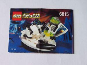 Responsable Lego ® De Recette/instruction Nº 6815-afficher Le Titre D'origine Grandes VariéTéS