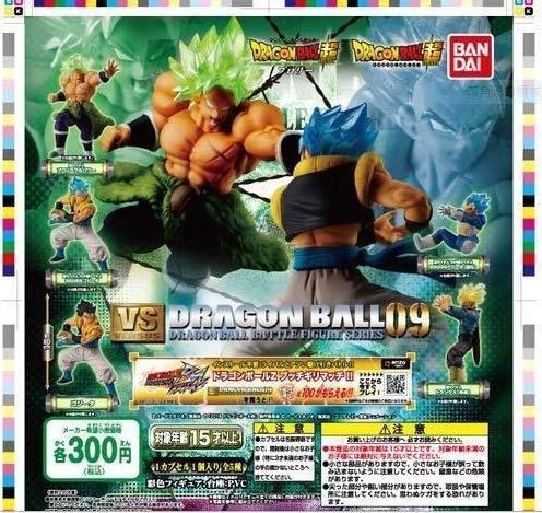 BANDAI Dragon Ball Super VS Dragon ball 09 FULL SET 5 pcs Figure JAPAN OFFICIAL