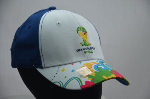 World New 2014 Cup Hat Official Cap Baseball Brasil Football Blue Os Brazil Fifa Ptqqw4