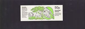 50p-ROYAL-MAIL-UK-Great-Britain-STAMP-BOOKLET-Gloucester-Pig-Farm-Animals-K-888