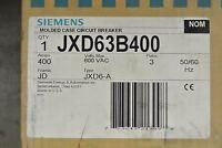 Siemens Jxd63b400 Jxd 3p 600v 400a Circuit Breaker - In Box