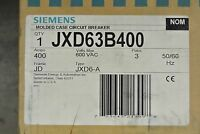 Siemens Jxd63b400 Jxd 3p 600v 400a Circuit Breaker - In Box