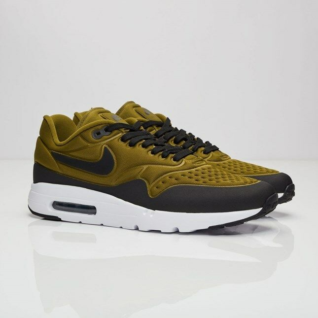 Nike Air Max 1 Ultra SE 845038-300 Olive Flak Men Size US 8.5 NEW 100% Authentic