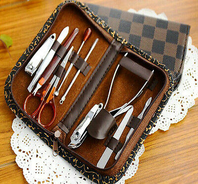 Hot Nail Clipper Manicure Grooming Kit Pedicure Beauty Care Set Stainless Steel