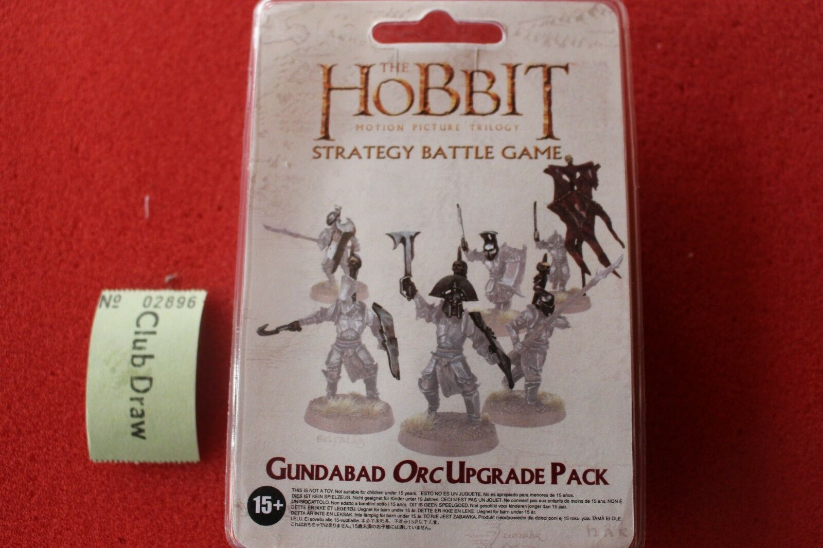 Lord Of The Rings The Hobbit Gundabad Orcs Upgrade Set New LoTR Orcs Forgeworld