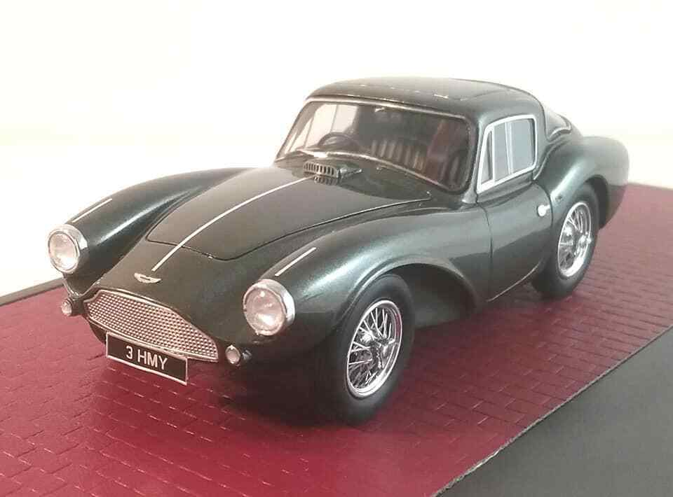 1956 Aston Martin DB3S Fhc verde in 1 43 Scala da Matrix