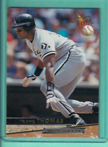 Details About 1993 Fleer Ultra 181 Frank Thomas Chicago White Sox Baseball Card