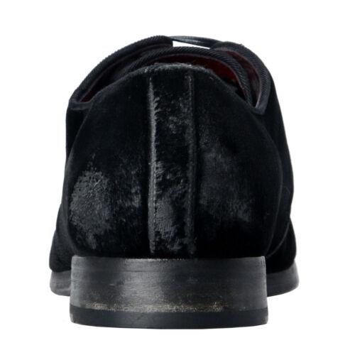 Abito Gabbana Pelle 7 Scarpe Dolce 9 10 8 Uomo Misura Oxford Nero Velluto amp; SpnWB68q