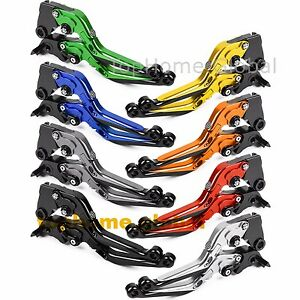 CNC-Folding-Extending-Clutch-Brake-Levers-Pair-Adjustable-Customize-Color-T6061