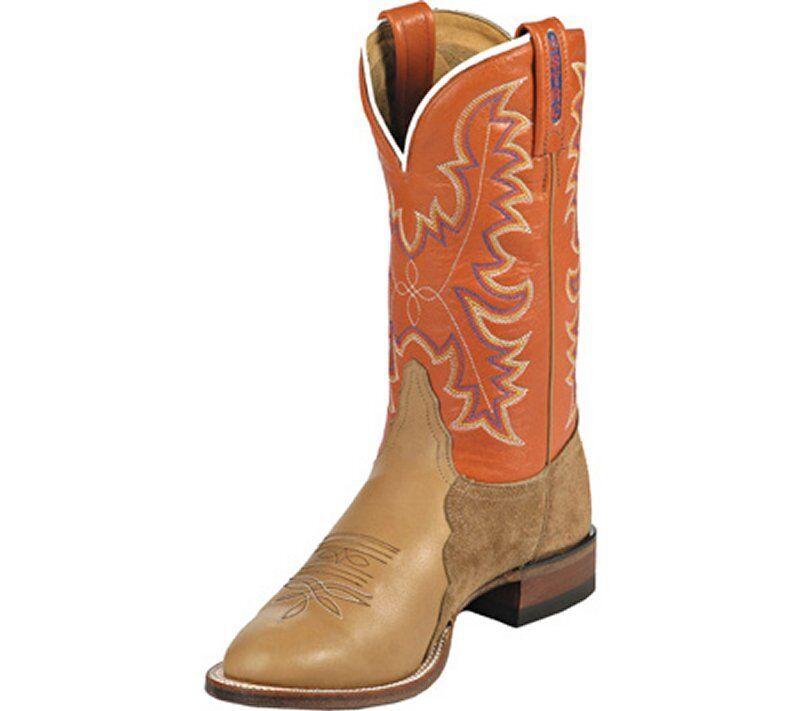 Tony Lama Womens 1078-L Rawhide Ol' Buck Boots 6B New