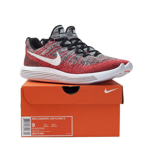 New Women/'s Nike Lunarepic Low Flyknit 2 863780 007 Running Shoes Size 7 9.5 10