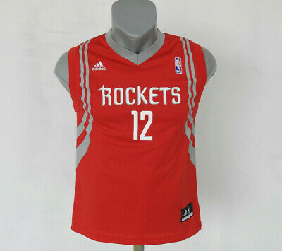 Houston Rockets #12 Howard NBA Jersey Adidas Red Basketball Vest Size Boys M